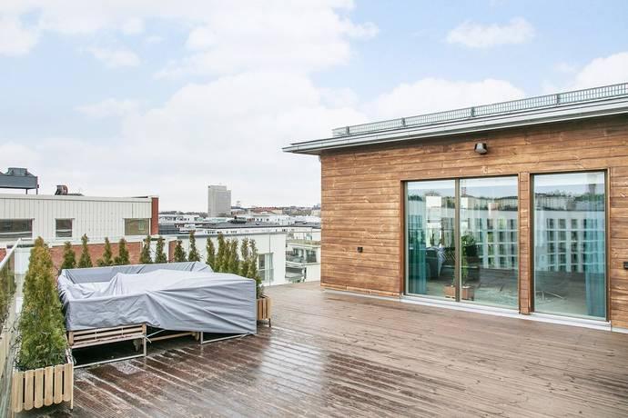 Bild: 5 rum bostadsrätt på Lumaparksvägen 1, Stockholms kommun Hammarby Sjöstad