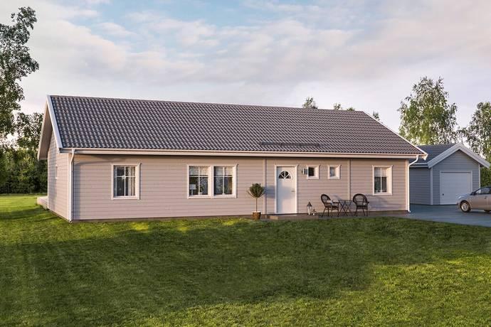 Bild: 122 m² villa på Sandrydsvägen, Karlskrona kommun Hasslö