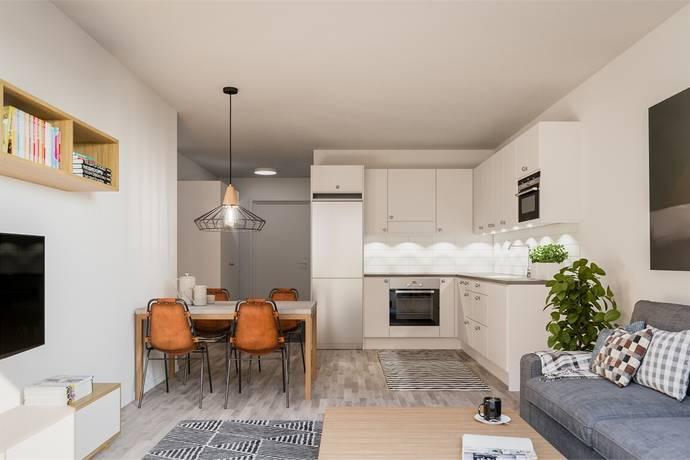 Bild: 1 rum bostadsrätt på Greta Arwidsson Gata 17-21, Gotlands kommun Visby