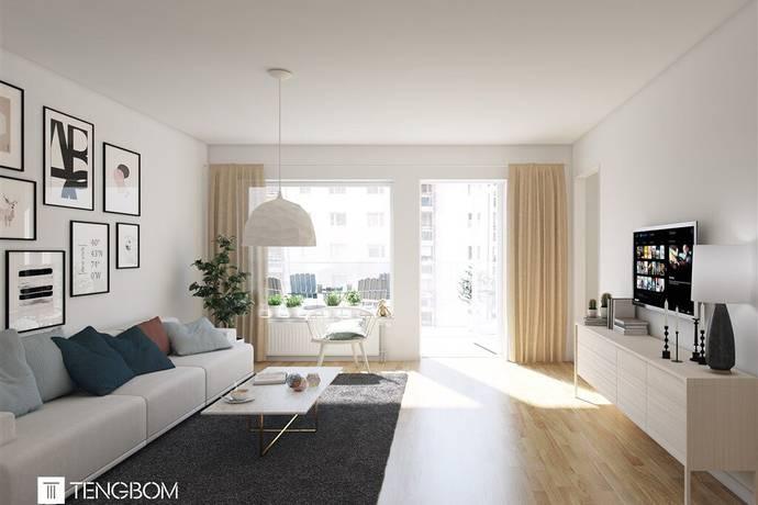 Bild: 3 rum bostadsrätt på Skonaregatan 4  - 1101, Sundsvalls kommun Norra Kajen