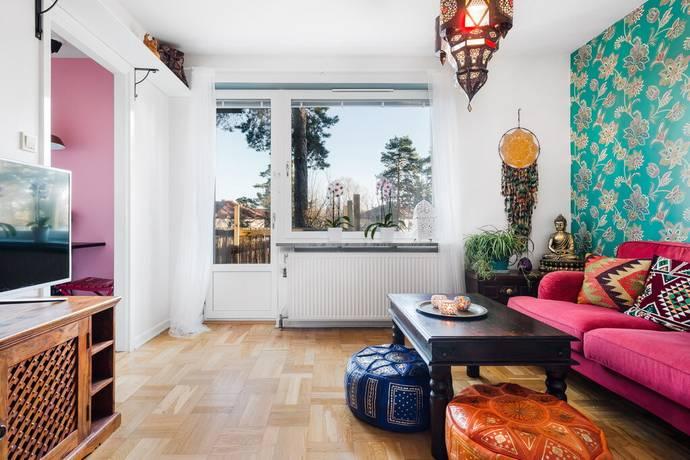 Bild: 1 rum bostadsrätt på Voxnegränd 17, Stockholms kommun Bagarmossen