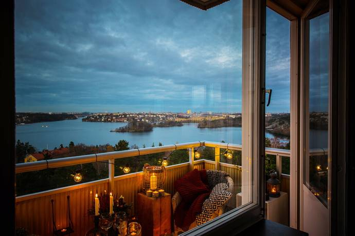 Bild: 3 rum bostadsrätt på Klubbacken 36, Stockholms kommun Mälarhöjden