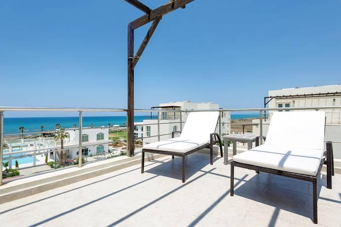 Bild: 3 rum bostadsrätt på Afrodite Village, penthouse, 2 sovrum, Cypern Güzelyurtkusten