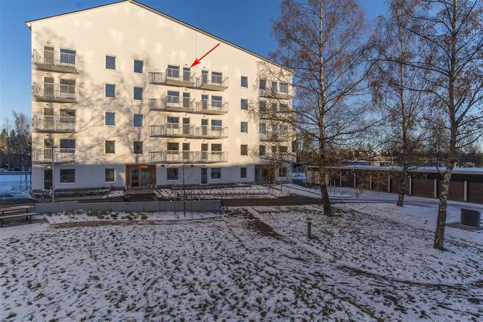 Bild: 2 rum bostadsrätt på Mariehemsvägen 43E, Umeå kommun Mariehem