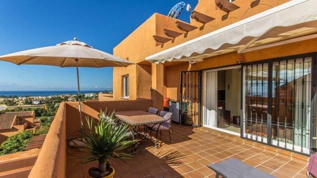Bild: 3 rum bostadsrätt på Fantastisk lägenhet med utsitk över havet och bergen., Spanien Marbella - Elviria