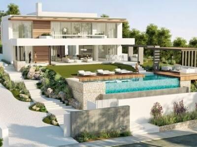 Bild: 4 rum villa på Villa, Marbella - Benahavis - Costa del Sol, ES, Spanien Benahavis - Costa del Sol