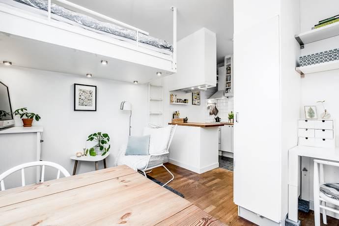 Bild: 1 rum bostadsrätt på Luthagsesplanaden 21B, Uppsala kommun Luthagen
