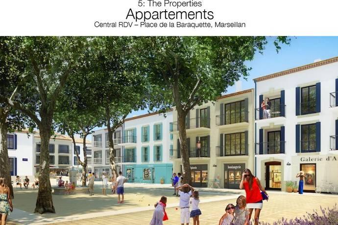 Bild: 2 rum bostadsrätt på Marseillan, Frankrike Languedoc - Roussillon