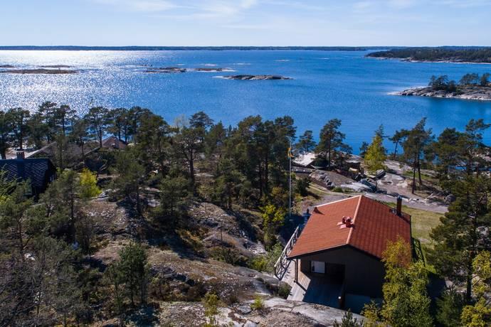 Bild: 3 rum fritidshus på Möja Västra Delsholmen 158, Värmdö kommun Södra Stavsudda