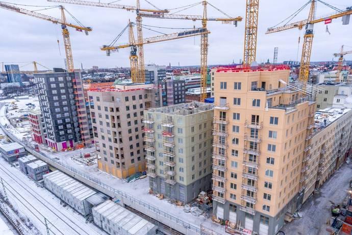 Bild: 3 rum bostadsrätt på Sonja Kovalevskys gata 8, vån 3, Stockholms kommun Hagastaden