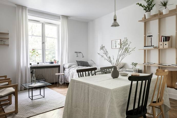 Bild: 1 rum bostadsrätt på Högalidsgatan 31, Stockholms kommun Södermalm Högalid