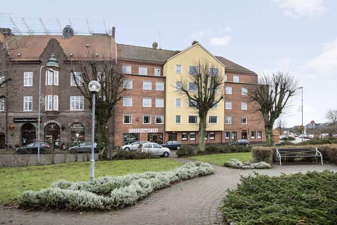 Bild: 4 rum bostadsrätt på Södergatan 19, Sölvesborgs kommun Sölvesborg Centralt