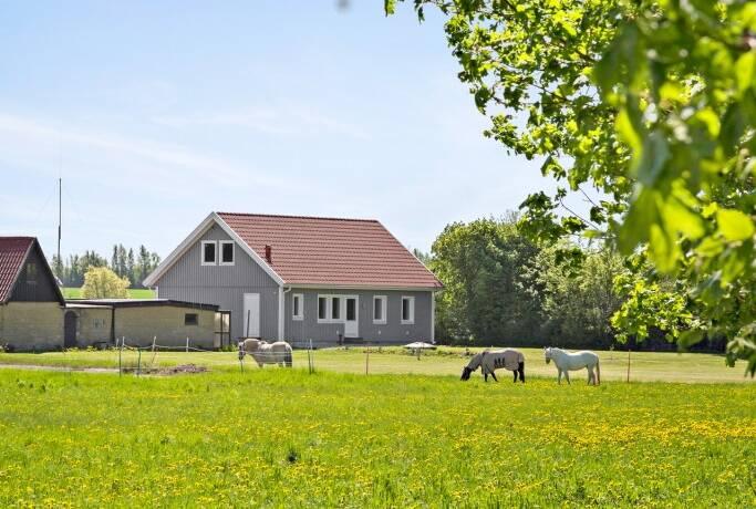 Bild: 3 rum villa på Allyhillvägen 23, Malmö kommun Tullstorp