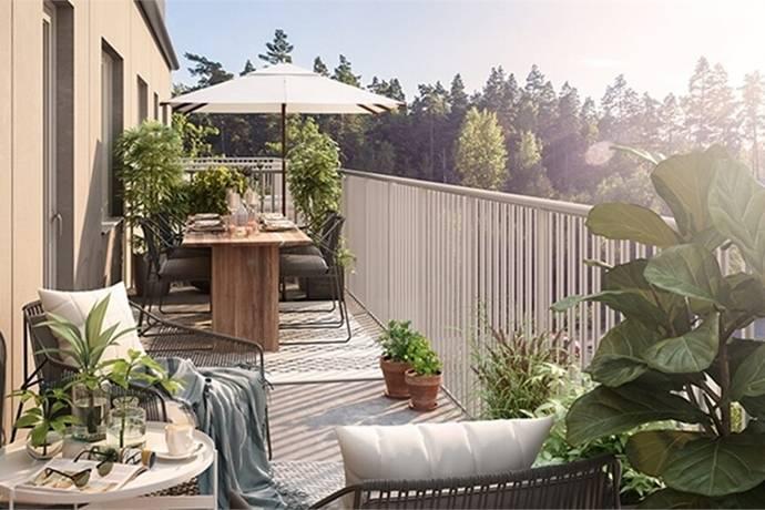 Bild: 4 rum bostadsrätt på Stadsskogsgatan 46, Alingsås kommun Stadsskogen