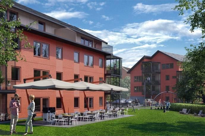 Bild: 4 rum bostadsrätt på Radhusvägen, Gislaveds kommun