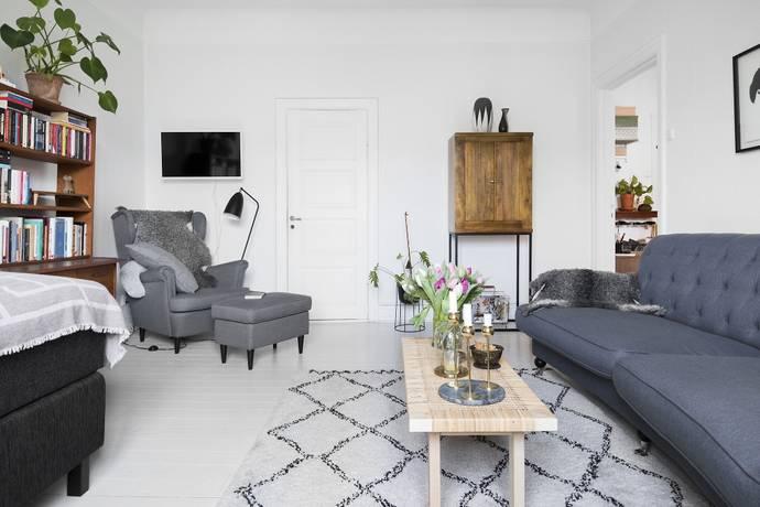 Bild: 1 rum bostadsrätt på Mariedalsvägen 21, Malmö kommun Ribersborg