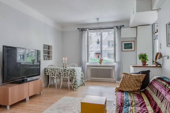 Bild: 3,5 rum bostadsrätt på Birger Sjöbergs Väg 3, Stockholms kommun Fredhäll