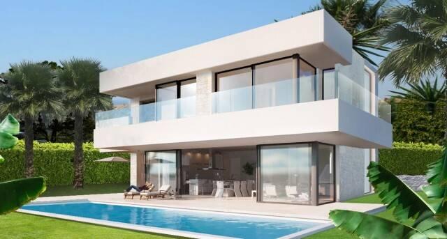 Bild: 4 rum villa på Villa i Estepona, Málaga, Spanien Estepona