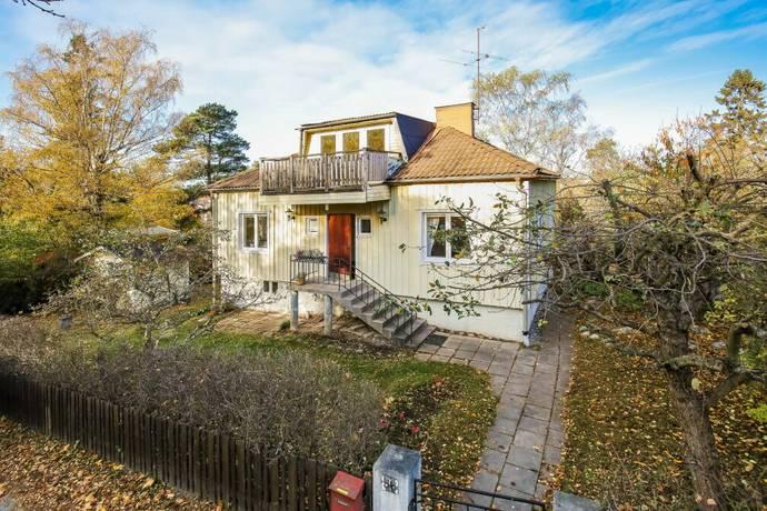 Bild: 4 rum villa på Drevkroken 56, Stockholms kommun Spånga Solhem