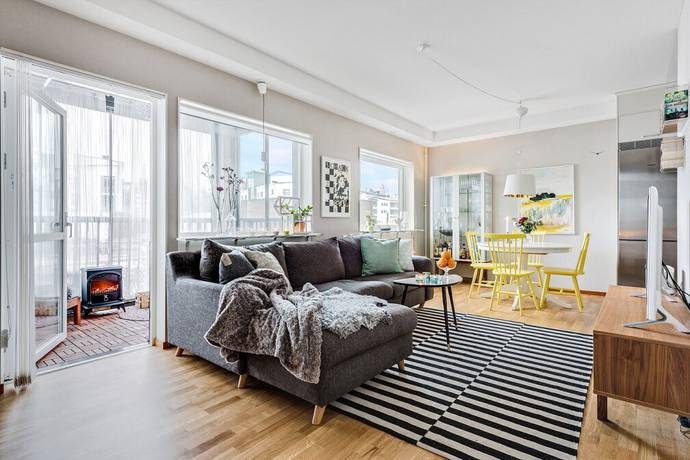 Bild: 1 rum bostadsrätt på Frida Åslunds Gränd 1C, Umeå kommun Sandåkern