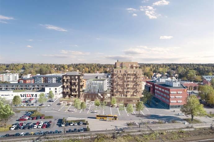 Bild: 3 rum bostadsrätt på Brf Sågverket, Knivsta kommun Centralt