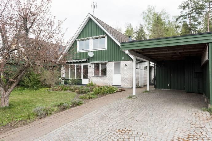 Bild: 6 rum radhus på Margaretagatan 30, Värnamo kommun Amerika