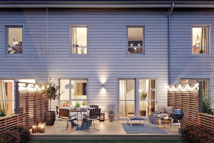 Bild: 5 rum radhus på Ingrid Wallbergs gata 21, Göteborgs kommun Kviberg