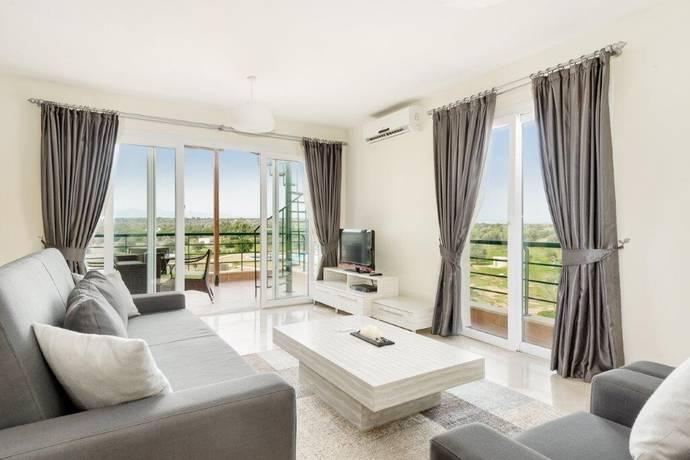 Bild: 4 rum bostadsrätt på Thalassa Beach Resort 3 sovrum, penthouse, Cypern Bafra