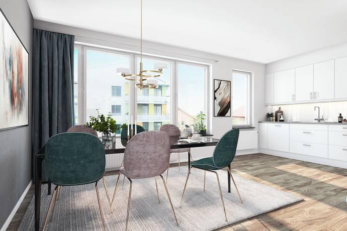 Bild: 2 rum bostadsrätt på Rörviksbacken, Stockholms kommun Årstastråket