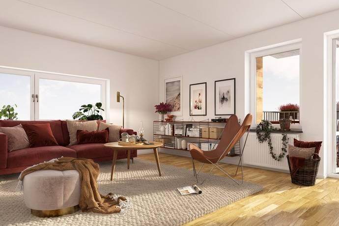 Bild: 3 rum bostadsrätt på Albert Engströmsgatan, Uppsala kommun Gränby