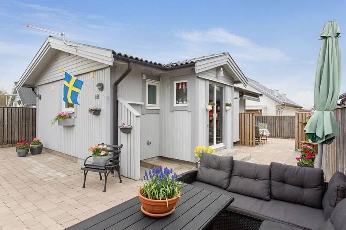 Bild: 2 rum villa på Frösakulls fritidsby stuga nr 48, Halmstads kommun Frösakull