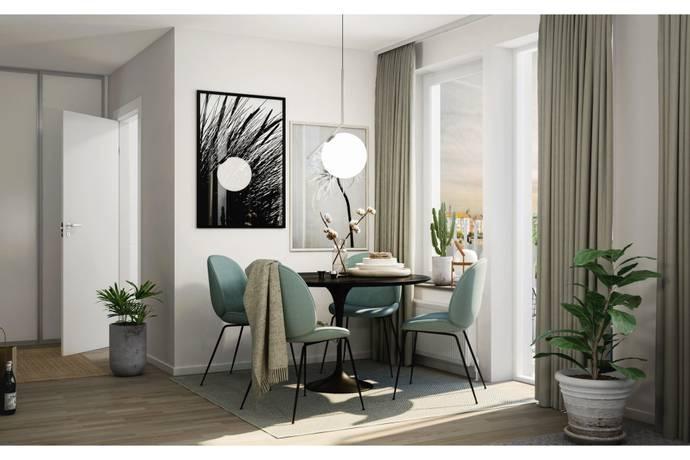 Bild: 1 rum bostadsrätt på BRF Reykjavik - Kista Gårdsväg, Stockholms kommun Kista