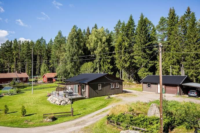 Bild: 3 rum villa på Hällrövägen 13, Gävle kommun Trödje