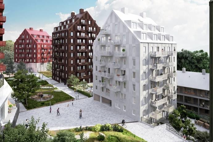 Bild: 1 rum bostadsrätt på Lagmansbacken 2, Botkyrka kommun Alby