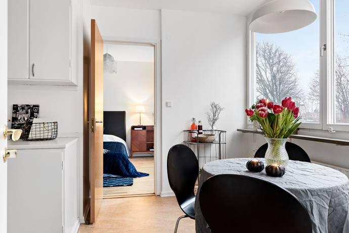 Bild: 3 rum bostadsrätt på Släggbacken 5, Solna kommun Huvudsta