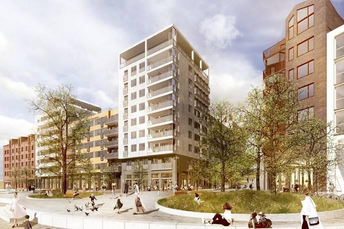 Bild: 1 rum bostadsrätt på Järla östra skolväg 23, Nacka kommun