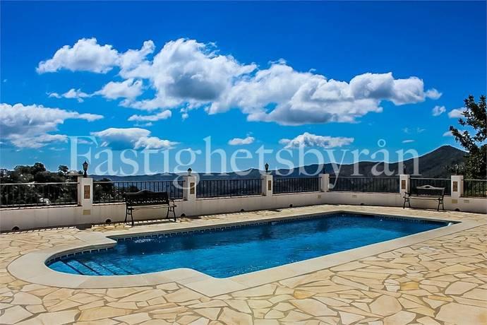 Bild: 8 rum villa på Villa med pool, Spanien La Viñuela | Costa del Sol