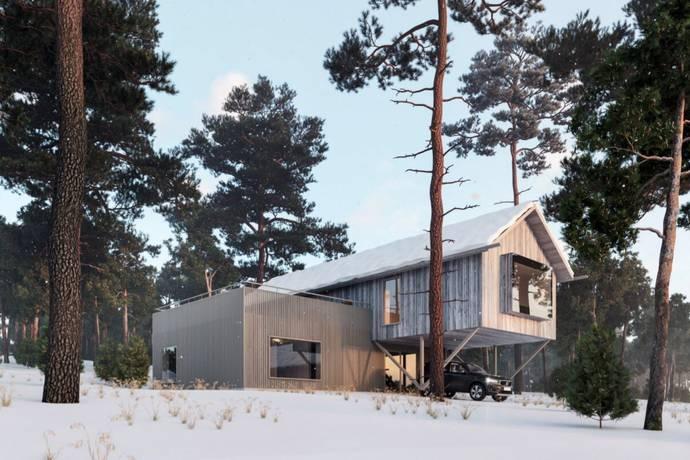 Bild: 160 m² fritidshus på Jaktstugan 55:213, Härjedalens kommun