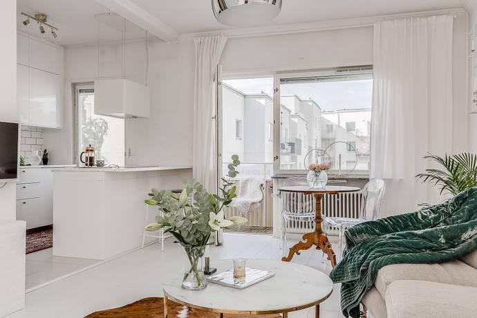 Bild: 3 rum bostadsrätt på Finn Malmgrens väg 8, 3tr, Stockholms kommun Hammarbyhöjden/Johanneshov