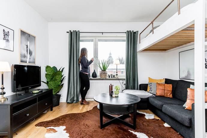 Bild: 1 rum bostadsrätt på Norra Skeppargatan 3C, Gävle kommun Centrum