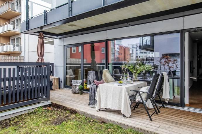 Bild: 3 rum bostadsrätt på Vimpelgatan 17, Malmö kommun Västra Hamnen