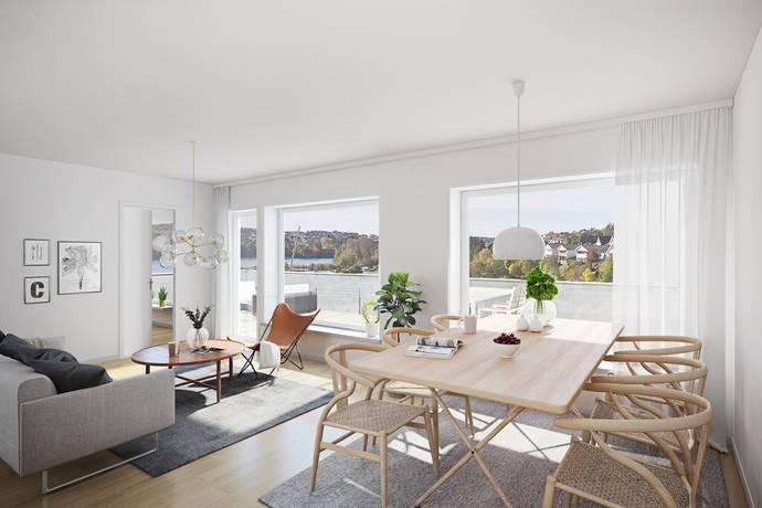 Bild: 4 rum bostadsrätt på Mellbyvägen 12, LGH 1206, Strömstads kommun