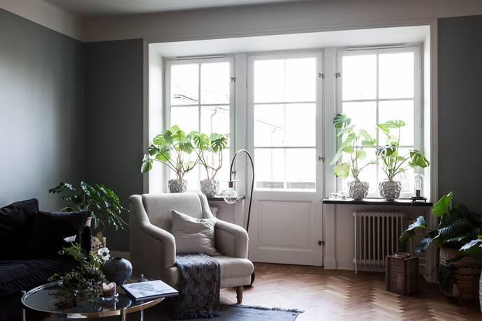 Bild: 4 rum bostadsrätt på Alviksvägen 7, Stockholms kommun Bromma - Äppelviken