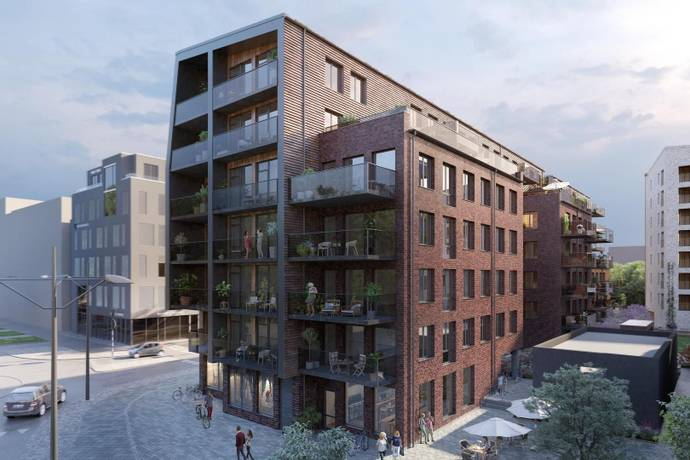 Bild från Västra Hamnen - På toppläge i Västra Hamnen
