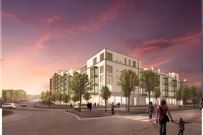 Bild: 3 rum bostadsrätt på Norrtullsgatan 12, Växjö kommun Centrum