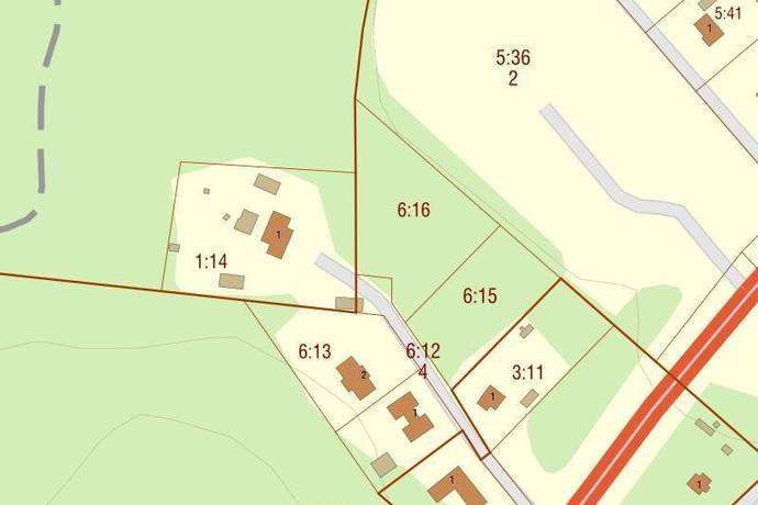 Bild: tomt på Mellby Stenbacken 4, Lidköpings kommun Mellby