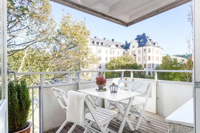 Bild: 3 rum bostadsrätt på Fatburs Kvarngata 27, Stockholms kommun Södermalm