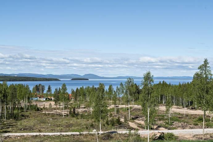 Bild: tomt på Ängsgårdar 1 - 15 Sjöängen, Leksands kommun Tällberg