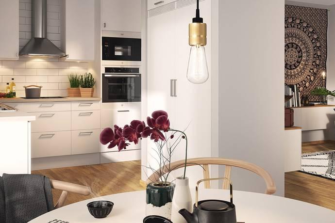 Bild: 2 rum bostadsrätt på Skeppsmäklargatan 53, Stockholms kommun Hammarby Sjöstad
