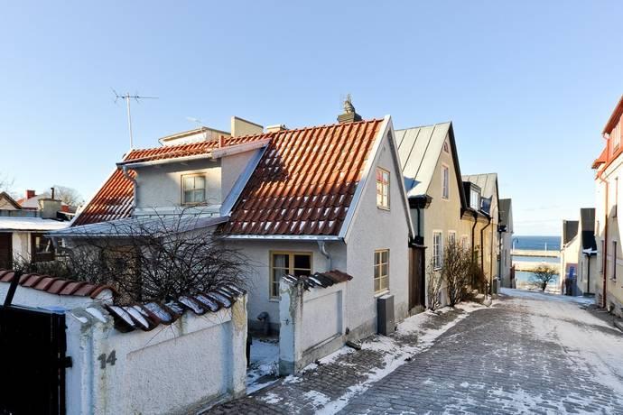 Bild: 3 rum villa på Norra Slottsgränd 12, Gotlands kommun Visby innerstad